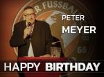 Peter Meyer - Ein Glücksgriff für den Verein