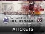 Ticketverkauf für das Auswärtsspiel in Babelsberg