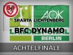 AOK-Landespokal: Im Achtelfinale beim SV Sparta Lichtenberg