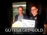 Der BFC Dynamo erhält erstmals das BFV-Gütesiegel in Gold