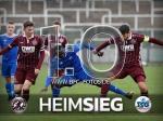 2. Testspiel - 2. Sieg - 1:0-Heimsieg gegen die TSG Neustrelitz