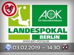 AOK-Landespokal: Auswärtsspiel bei der Sp.Vg. Blau-Weiß 1890 terminiert
