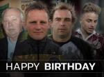 Vier Gründe zum Feiern - Carow, Thomaschewski, Bonan & Twardzik feiern Geburtstag