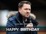 Chefscout feiert Geburtstag - Danny Kukulies wird 39