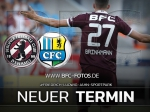 Nachholspiel gegen den Chemnitzer FC terminiert