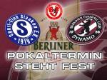 BFC nächsten Mittwoch im Pokal in Staaken zu Gast