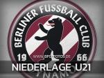 U21: Herbe 1:5-Niederlage in Hohen Neuendorf