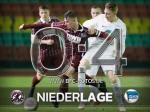 Niederlage gegen die U23 von Hertha BSC