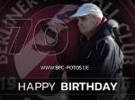 Glückwünsche - Peter Fuhrmann feiert seinen 70.