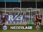 2:1 - Späte Niederlage in Nordhausen
