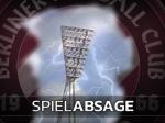 Stadion vorübergehend gesperrt - Spiel gegen den SV Babelsberg 03 abgesagt